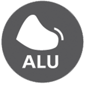 Tåværn af aluminium