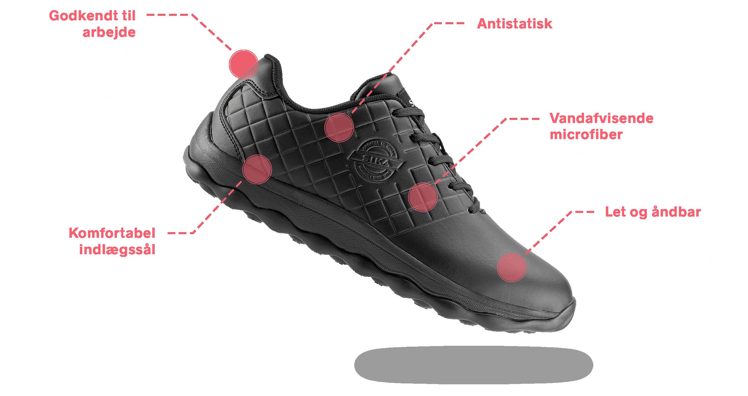 8276a4b5 Men du glemmer (måske), hvem der går langt for dig – dine fødder. SIKA  BUBBLE er lavet af åndbare letvægtsmaterialer, så dine fødder nemt kan  trække vejret.
