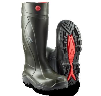 ca378323b51 DUNLOP gummistøvler skabt til benhårdt arbejde.