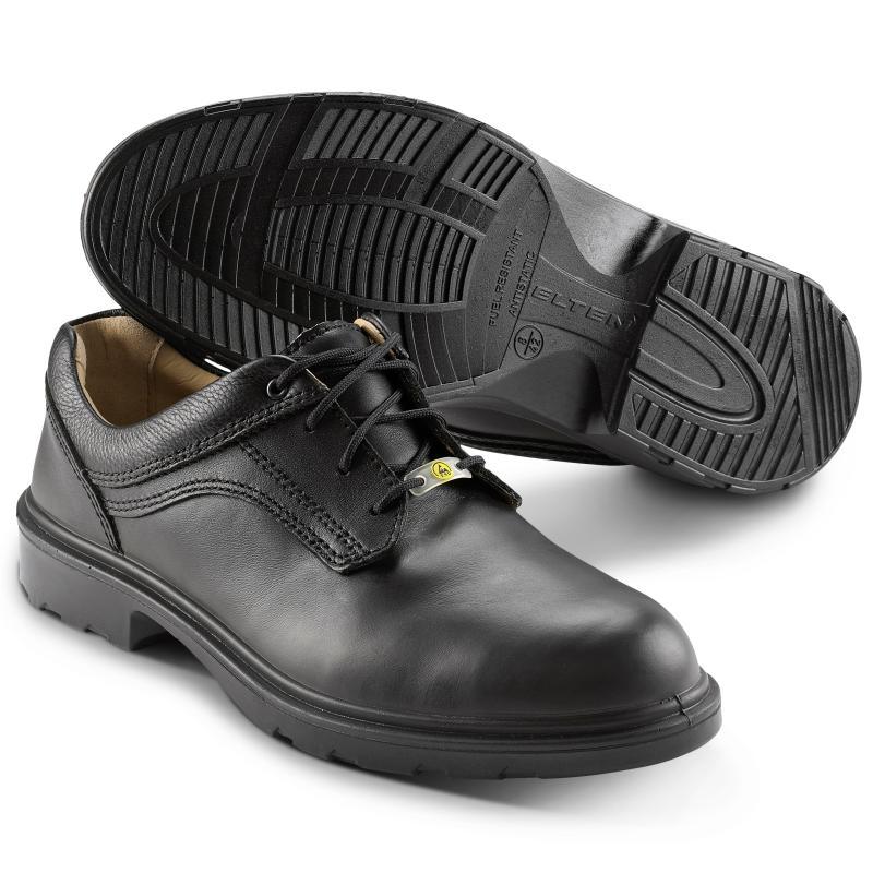 47456e2f ELTEN 71306 Adviser sikkerhedssko. Pæn sko af læder